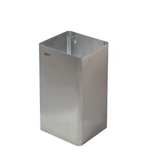 Abfallbehälter offen Edelstahl 65 Liter (PP1065CS) (Mediclinics, Dutch Bins)