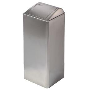 Abfallbehälter geschlossen Edelstahl 80 Liter (PP0080CS) (Mediclinics, Dutch Bins)