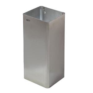 Abfallbehälter offen Edelstahl 80 Liter (PP1080CS) (Mediclinics, Dutch Bins)