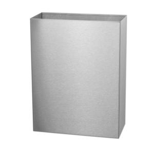 Abfallbehälter  25 Liter offen Edelstahl (CLB25L-CS) (Dutch Bins, Basicline)