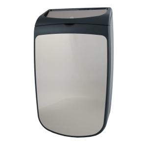 Abfallbehälter 25 Liter geschlossen Edelstahl/Kunststoff (PQXAC25) (PlastiQline Exclusive, Dutch Bins)