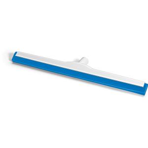 HACCP-Wasserschieber glasfaserverstärkt 60 cm Hygiene-Gummi blau
