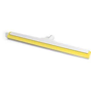 HACCP-Wasserschieber glasfaserverstärkt 60 cm Hygiene-Gummi gelb