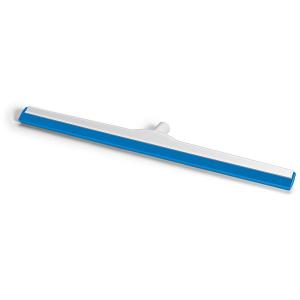 HACCP-Wasserschieber glasfaserverstärkt 75 cm Hygiene-Gummi blau