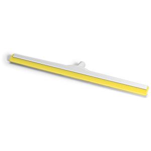 HACCP-Wasserschieber glasfaserverstärkt 75 cm Hygiene-Gummi gelb