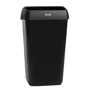 Katrin inclusive Abfallbehälter 25 Liter schwarz