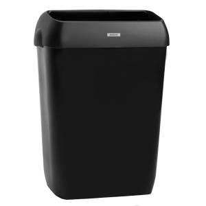 Katrin inclusive Abfallbehälter 50 Liter schwarz