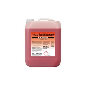 WC-&Sanitärreiniger  rot 10-L-Kanister