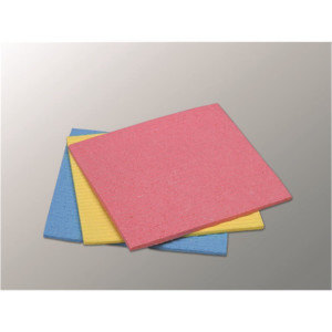 Schwammtuch klein 200 x 180 mm gelb