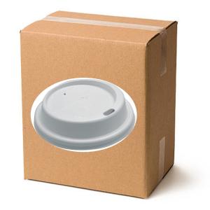 Kaffeebecher-DECKEL To Go  0,2-l  / 0,3-l Slim Karton à 10 Stangen=1000 Stück