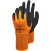 WonderGrip Thermo Lite WG-320 Gr.9, Orange, Latex 2-Fach...
