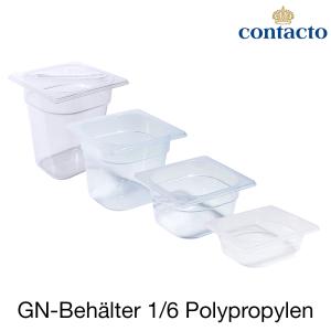 GN-Behälter 1/6 Polypropylen