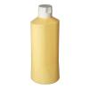 Quetschflasche 1 Liter crémeweiß