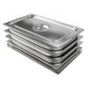 Tomy Gastronormbehälter Edelstahl GN 1/1 100 mm tief