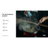 Tomy Antihaft-Bratpfanne aus Edelstahl mit gekapseltem Alu-/Edelstahlboden