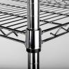 Lagerregal aus verchromten Stahl, Abmessung 900x400x1800...