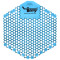 Tomy Urinalwelle 3D Baumwollblüte, hellblau