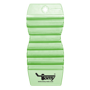 Tomy Lufterfrischer Hang Tag Gurke-Melone, dunkelgrün