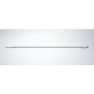 Aluminiumstiel, 1500x25mm weiß