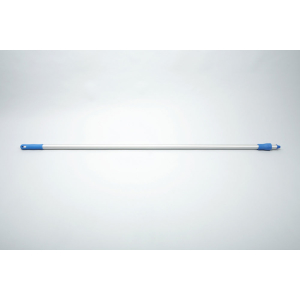 Aluminiumstiel, 1500x25mm blau