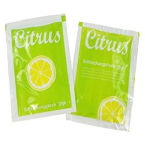 Erfrischungstücher-Citrus 140 x 200mm VE = 1000 Stück