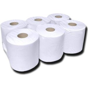 M-Handtuchrolle 2-lg hochweiß VE = 6 Rollen