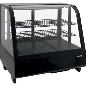 SARO Tisch-Kühlvitrine Modell KATRIN schwarz