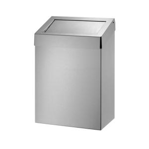 Abfallbehälter 20-l-Edelstahl d