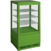 SARO Mini-Umluftkühlvitrine Modell SC 70 grün