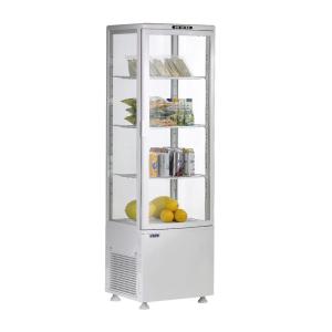 SARO Umluftkühlvitrine Modell SVEN weiß