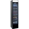 SARO Extra schmaler Kühlschrank mit Umluftventilator...