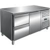 SARO Kühltisch inkl. 2er Schubladenset Modell KYLJA...