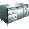 SARO Kühltisch inkl. 3er Schubladenset Modell KYLJA...
