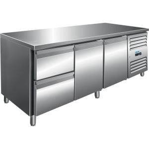 SARO Kühltisch inkl. 2er Schubladenset Modell KYLJA 3110 TN