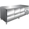 SARO Kühltisch inkl. 3 x 2er Schubladenset Modell...