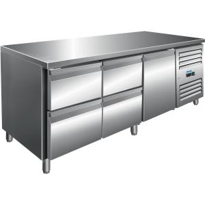 SARO Kühltisch inkl. 2 x 2er Schubladenset Modell KYLJA 3140 TN