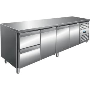 SARO Kühltisch inkl. 2er Schubladenset Modell KYLJA 4110 TN