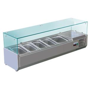 SARO Aufsatzkühlvitrine METTE VRX 1400/380