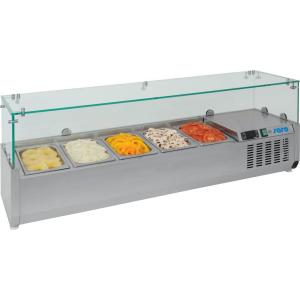 SARO Aufsatzkühlvitrine METTE VRX 1500/380