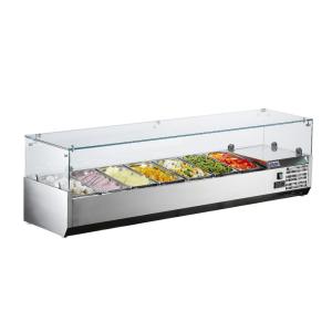 SARO Aufsatzkühlvitrine METTE VRX 1600/380