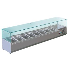 SARO Aufsatzkühlvitrine METTE VRX 1800/380