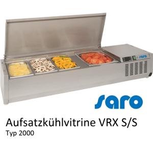 SARO AufsatzkühlvitrineVRX 2000 S/S