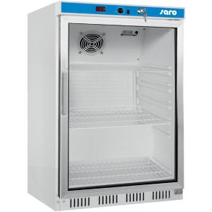 SARO Saro Kühlschrank mit Umluftventilator Modell HK 200 GD Glastür Türanschlag wechselbar