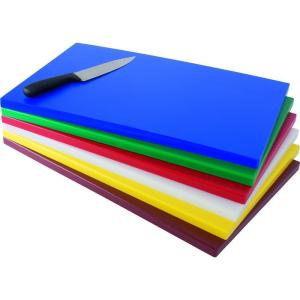 SARO Polyethylen-Schneidebrett Modell GN weiß