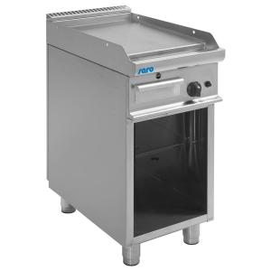 SARO Gas-Griddleplatte mit offenem Unterbau Modell E7/KTG1BAL