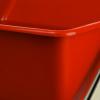 Kunststoffeimer 6 Liter rot für Reinigungswagen mit...