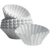 SARO Korb-Filterpapier, ca. 245/85mm weiß