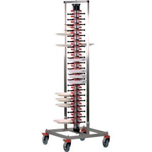 SARO Tellerstapelsystem Plate-Mate® Modell PM-84 STANDARD