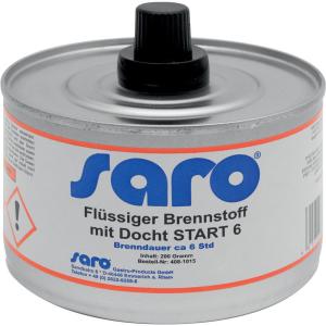 SARO Flüssiger Brennstoff mit Docht Modell START 6