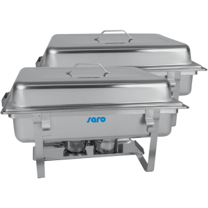 SARO Chafing Dish Twin-Pack Modell ELENA